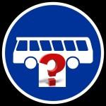 Bus m Fragezeichen
